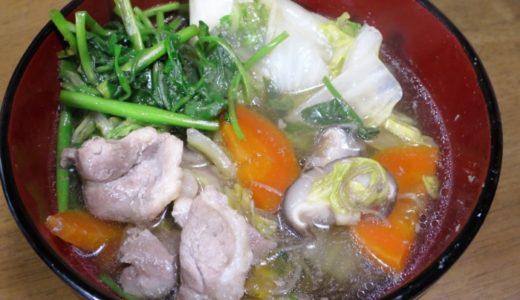 青森県産の鴨を食べる