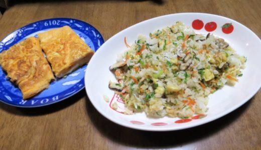 炒飯と卵焼き